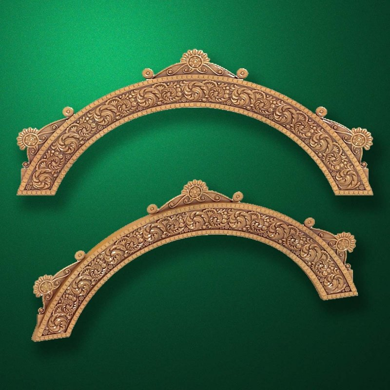 "Picture - Carved wood decor ""Arched element-002"""