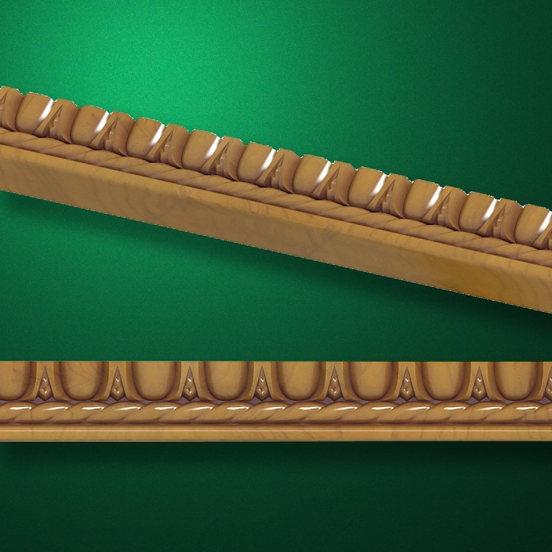 """Wood carved moldings """"Moldings-001"""""""