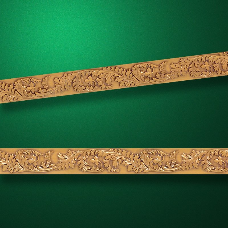 "Wood carved moldings ""Moldings-010"""