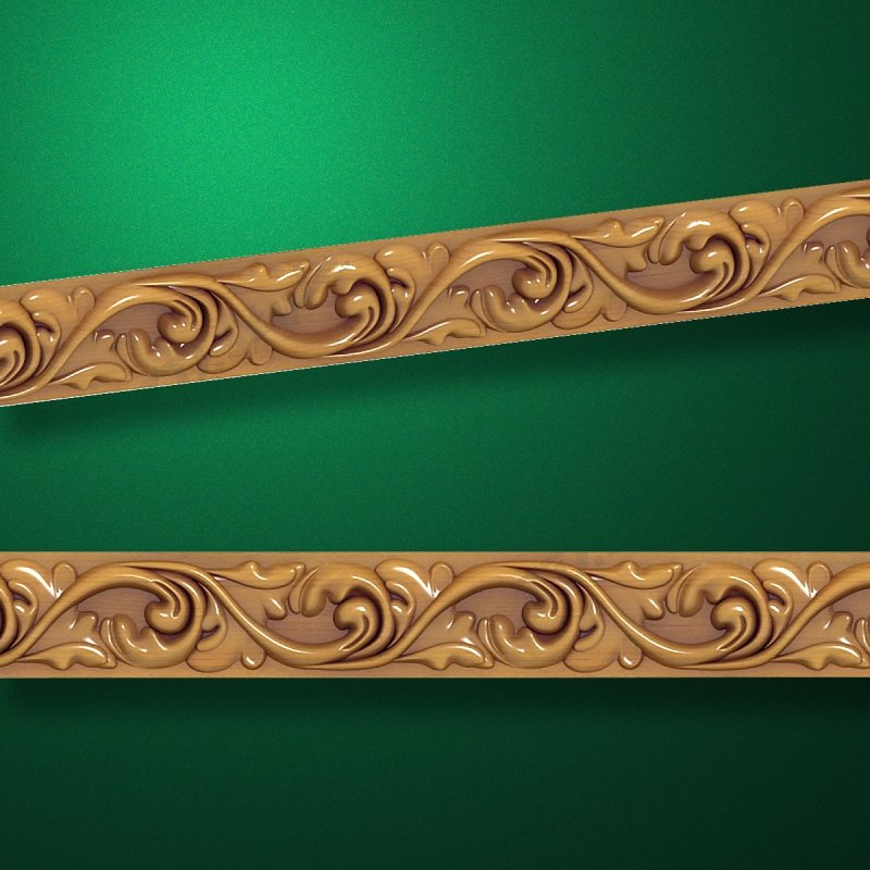 "Wood carved moldings ""Moldings-017"""