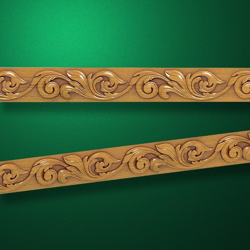 3D style - Carved wood molding - Molding-018  Mouldings for frames