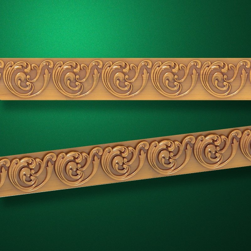 """Wood carved moldings """"Moldings-019"""""""
