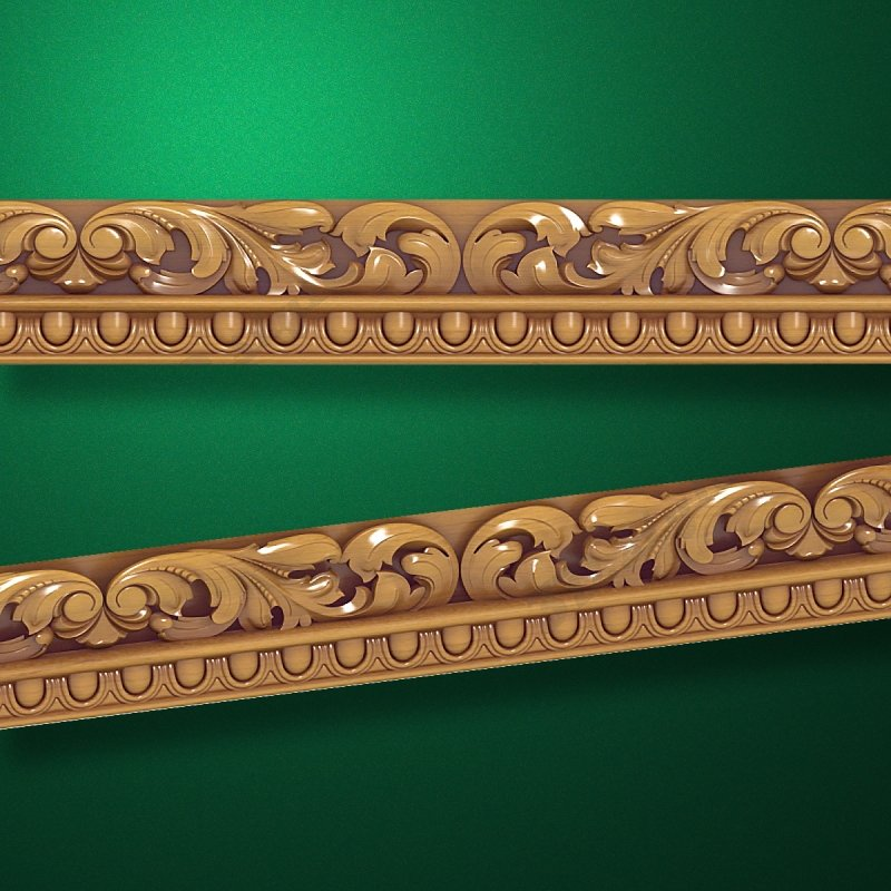 """Wood carved moldings """"Moldings-020"""""""