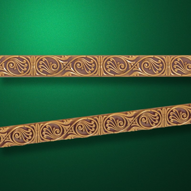 "Wood carved moldings ""Moldings-021"""