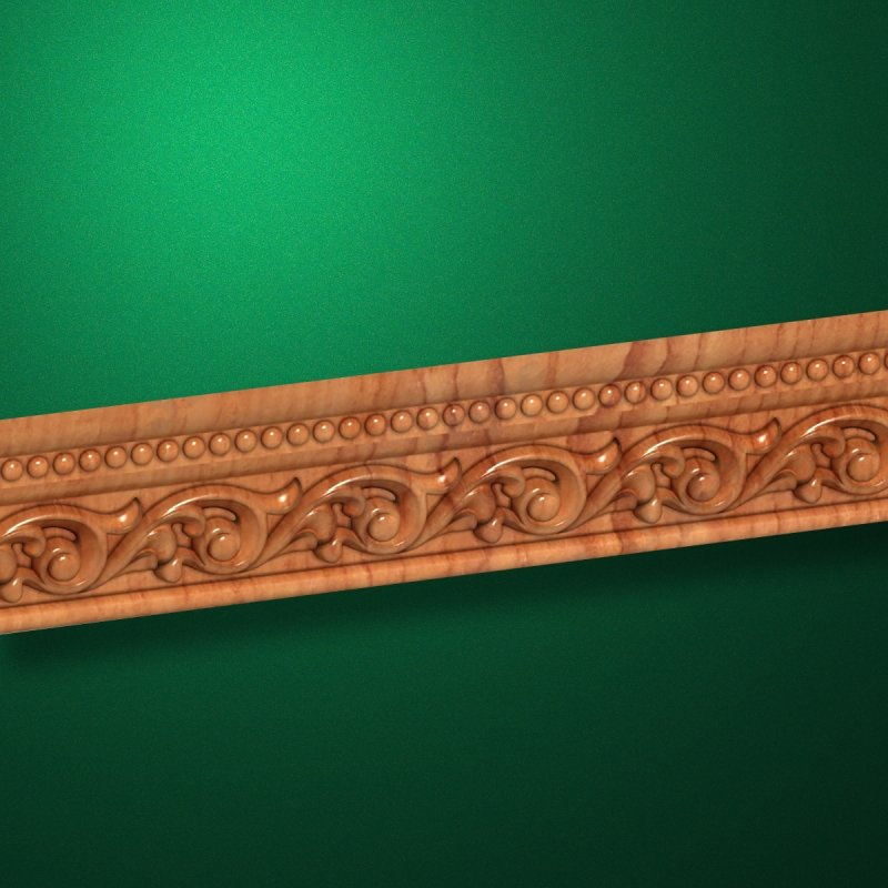 """Wood carved moldings """"Moldings-027"""""""