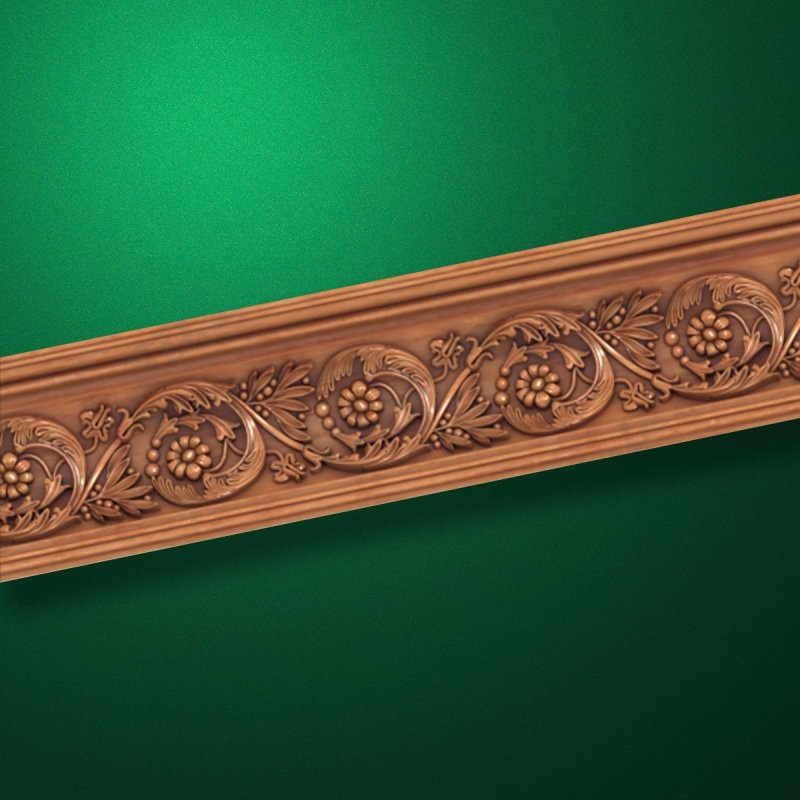 "Wood carved moldings ""Moldings-031"""