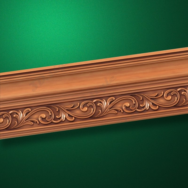 "Wood carved moldings ""Moldings-032"""