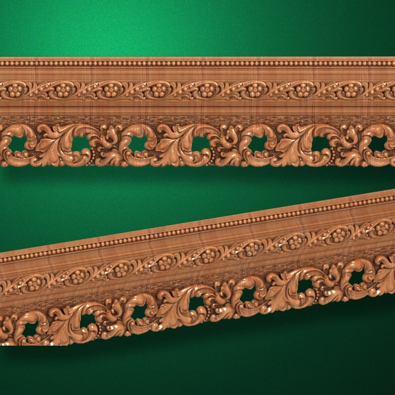 """Wood carved moldings """"Moldings-033"""""""