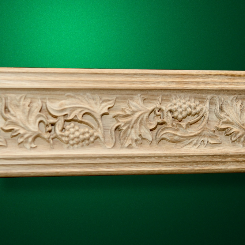 "An example of the application of the ornament of carved baguette ""Baguette-040"""