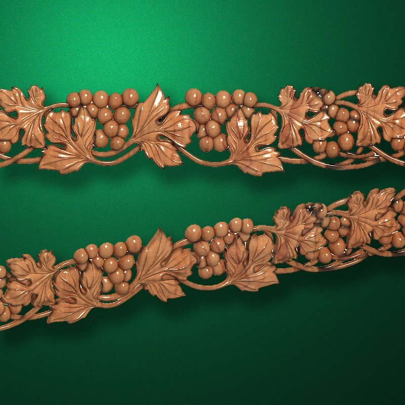 "Wood carved moldings ""Moldings-042"""