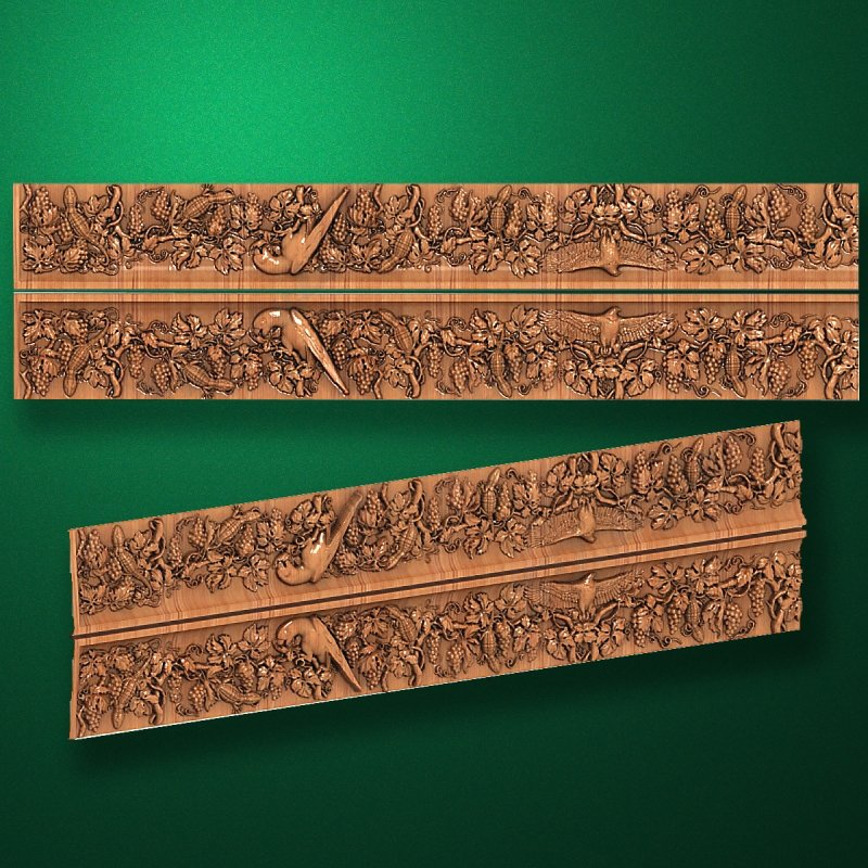 "Wood carved moldings ""Moldings-043"""