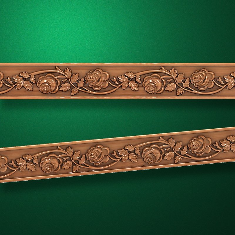 3D style - Carved wood molding - Molding-044  Mouldings for frames