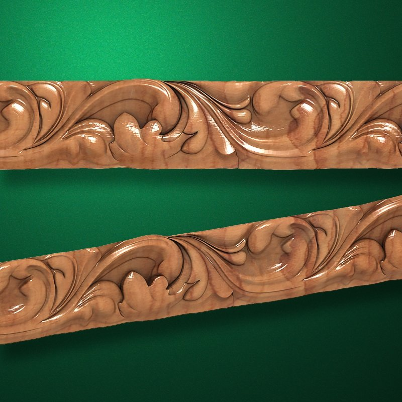 "Wood carved moldings ""Moldings-045"""