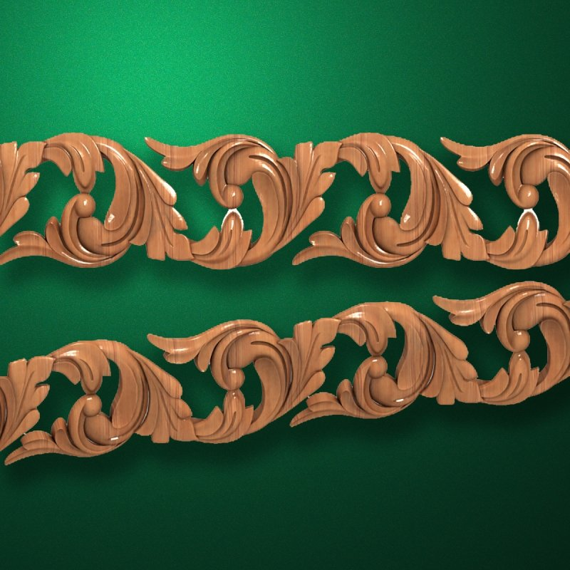 "Wood carved moldings ""Moldings-047"""
