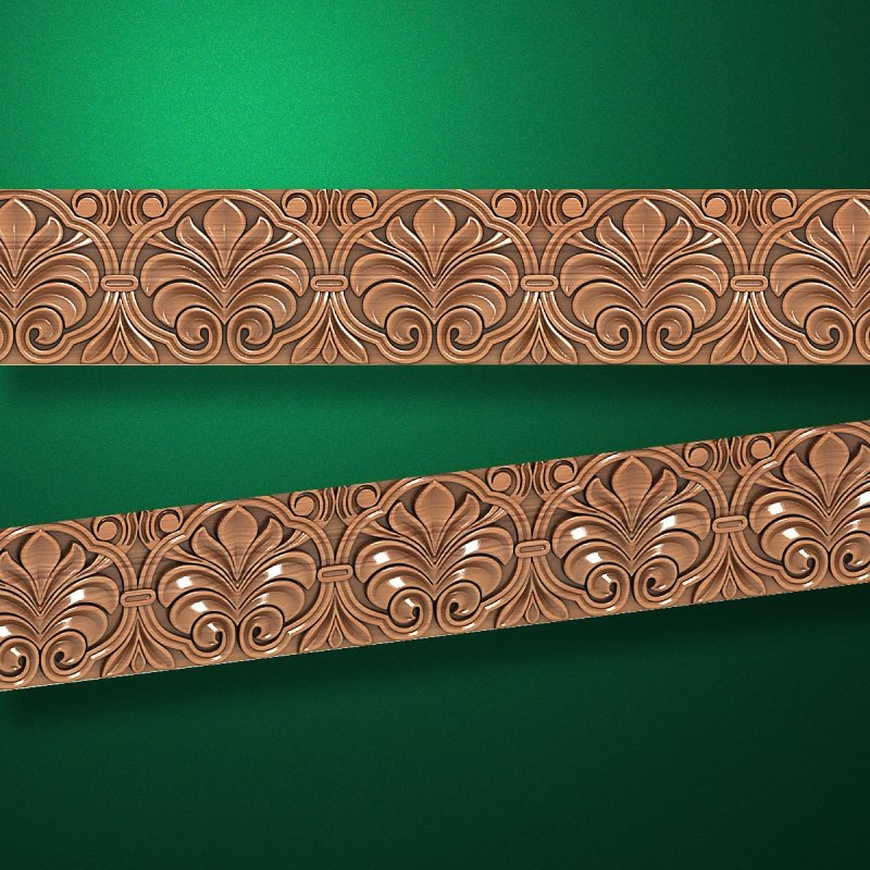 "Wood carved moldings ""Moldings-048"""