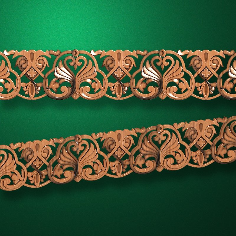 """Wood carved moldings """"Moldings-050"""""""