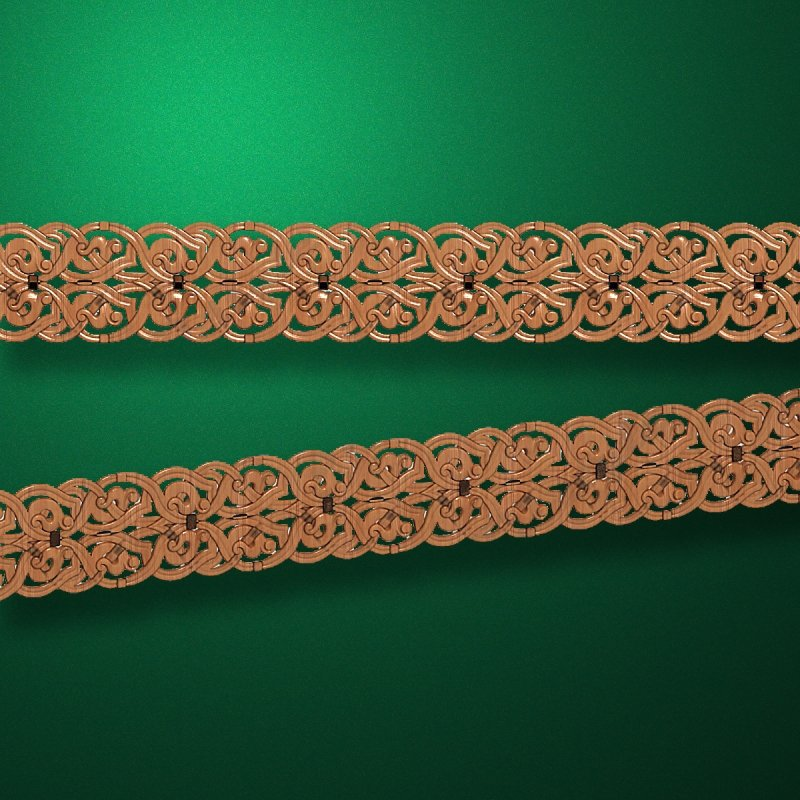 """Wood carved moldings """"Moldings-051"""""""