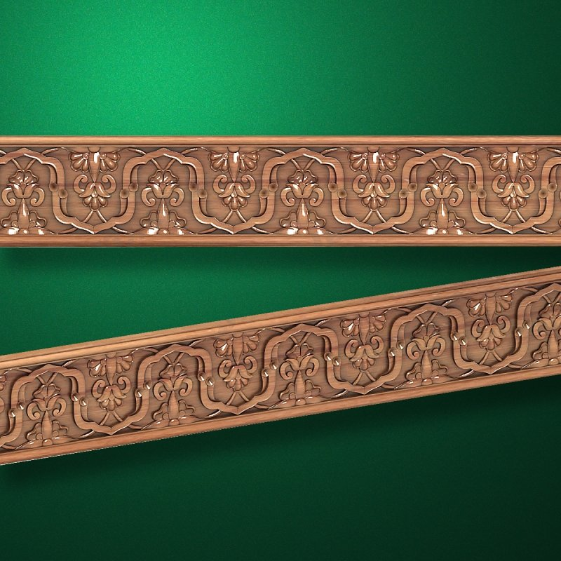 """Wood carved moldings """"Moldings-052"""""""