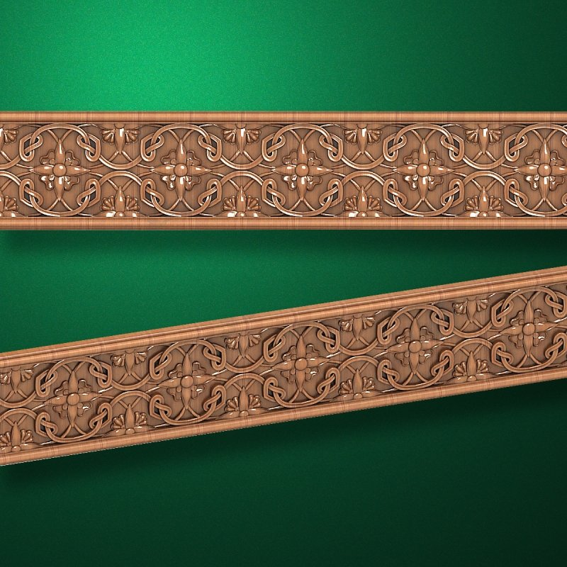 """Wood carved moldings """"Moldings-053"""""""