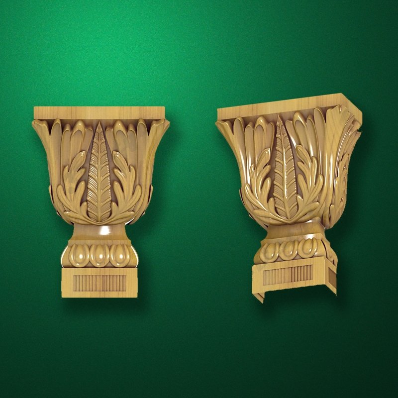 "Carved ""Capital-005"""