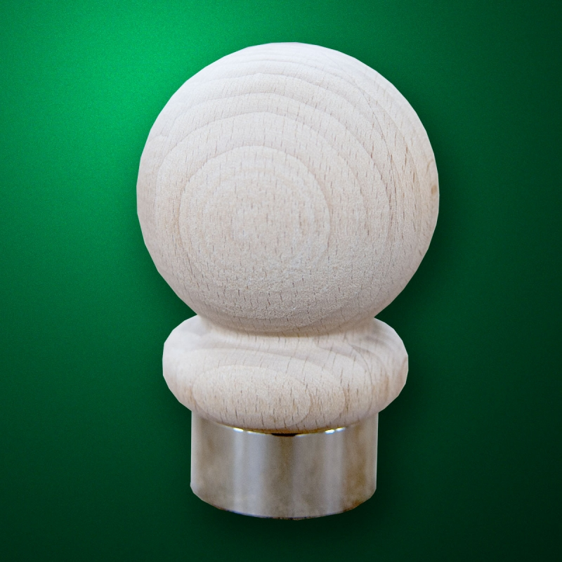 """Finial for flagpole """"Sphere"""""""