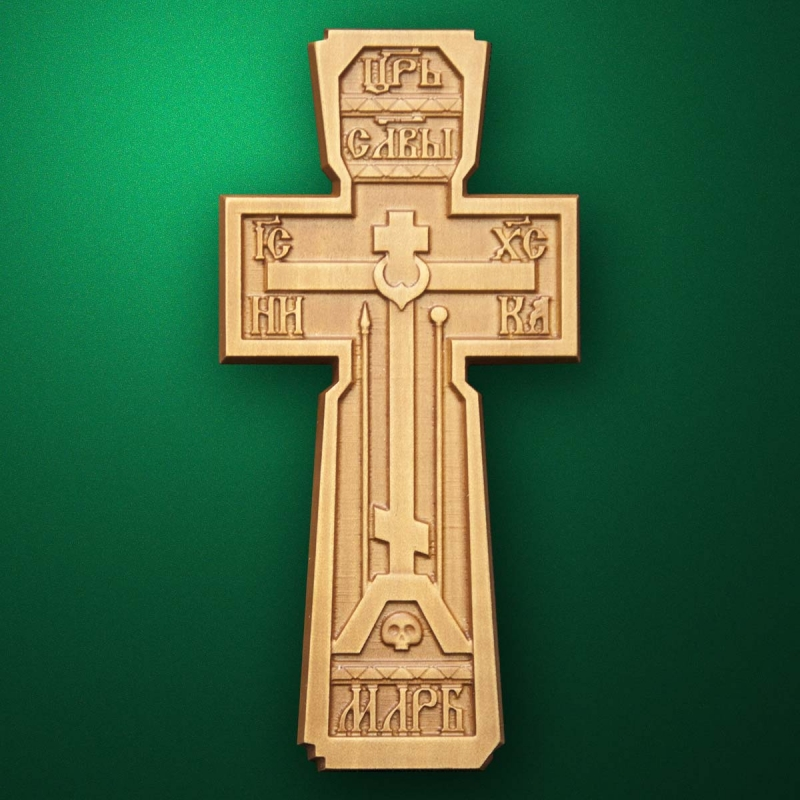 "Carved cross ""Cross-005"""