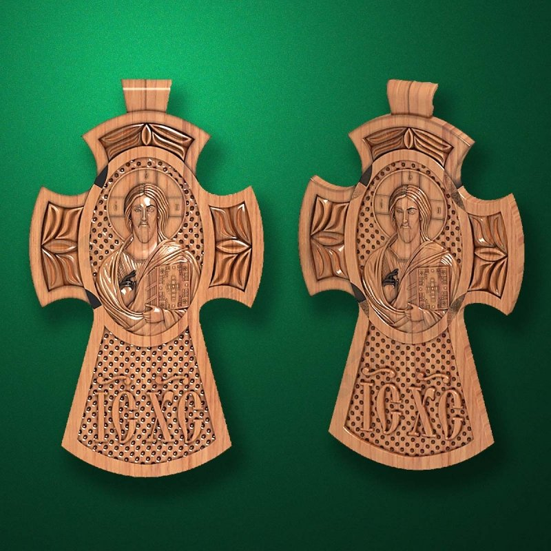 "Carved cross ""Cross-007"""