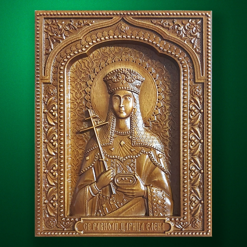 Carved wooden icon (Code 77547)