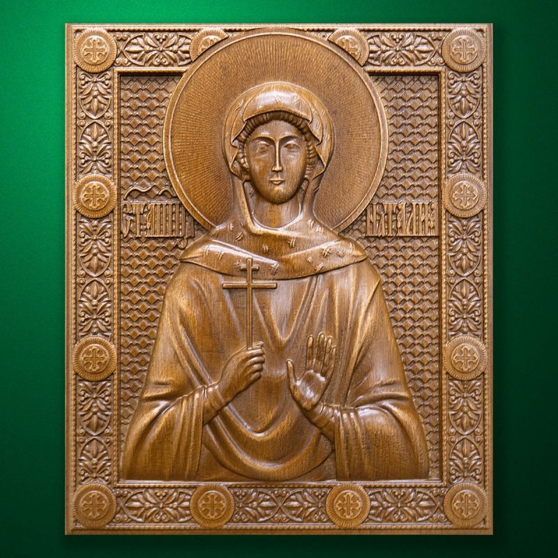 Carved wooden icon (Code 77569)