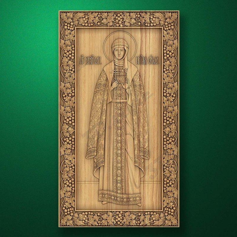 Carved wooden icon (Code 77573)