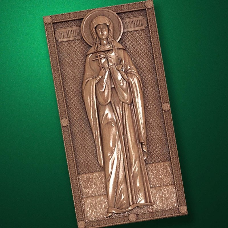Carved wooden icon (Code 77585)