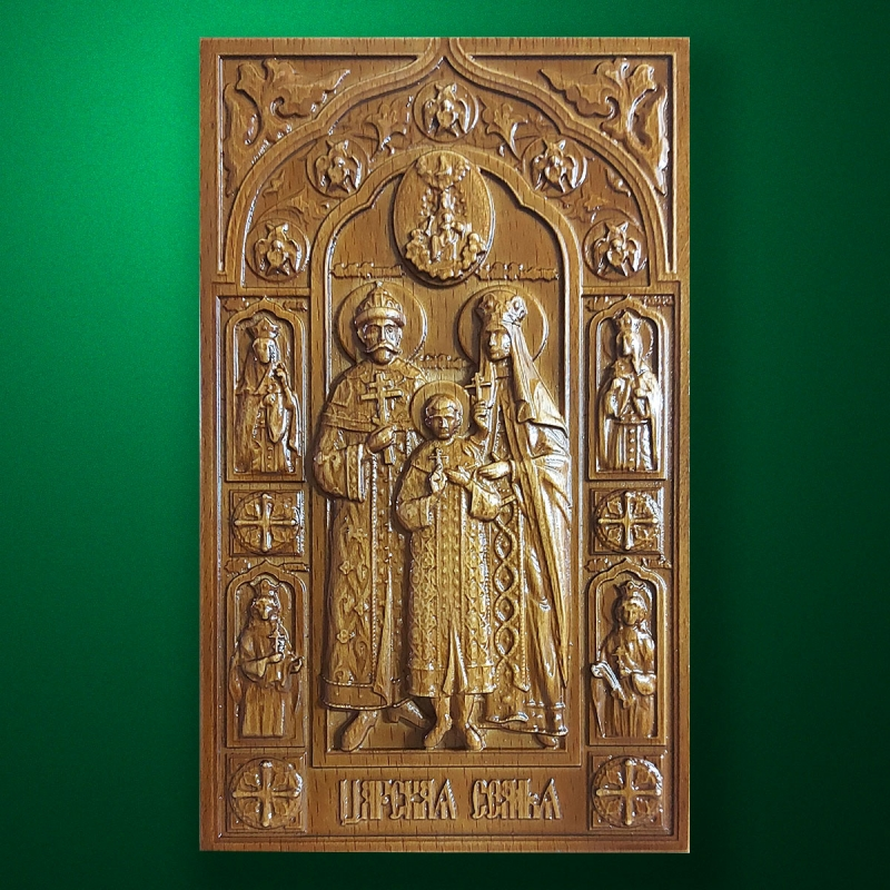 Carved wooden icon (Code 77591)