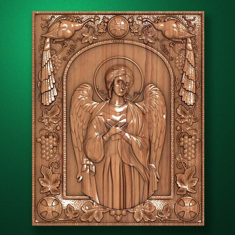 Carved wooden icon (Code 77597)