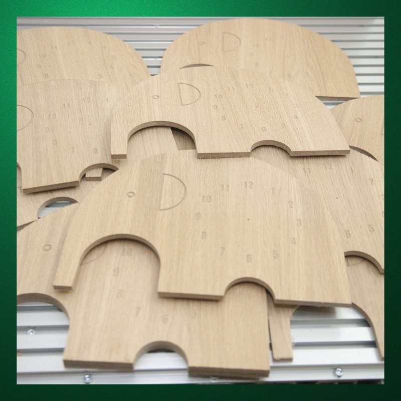 MDF cutting by milling