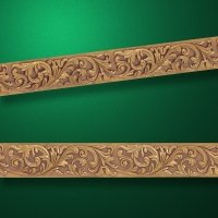 "Wood carved moldings ""Moldings-006"""