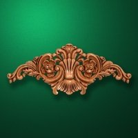 Carved wooden or MDF decorative onlay for furniture. Code 13527