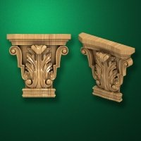 "Carved ""Capital-008"""