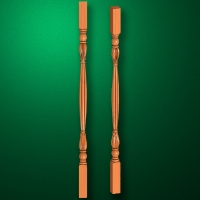 "Carved from wood ""Baluster-001"""