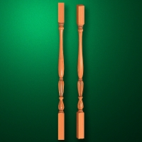 "Carved from wood ""Baluster-002"""