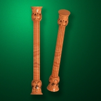 "Carved from wood ""Baluster-012"""