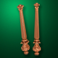 "Carved from wood ""Baluster-015"""