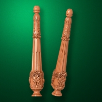 "Carved from wood ""Baluster-016"""