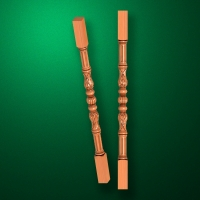 "Carved from wood ""Baluster-021"""
