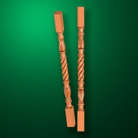"Carved from wood ""Baluster-022"""