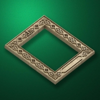 Carved icon frame (Frame-004)