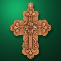 "Carved cross ""Cross-003"""