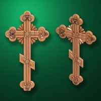 "Carved cross ""Cross-006"""
