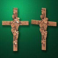 "Carved cross ""Cross-009"""