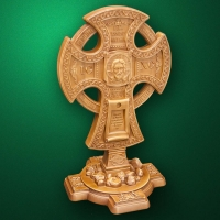 "Carved ortodox cross ""Cross-011"""