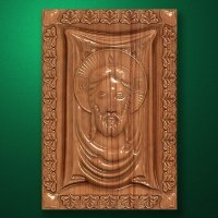 "Carved wood Icon ""Jesus Christ"" (code 77007)"
